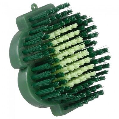 Tough -1 Soft Bristle Brush /Dollar Sign Design w/ Crystals - Green -You get 2