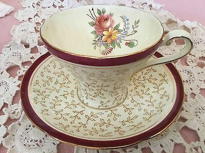 Aynsley Bone China Corset Cup And Saucer England