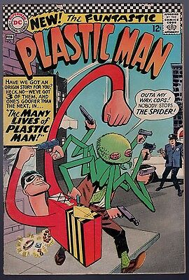 Plastic Man #2 Very Good+ Checkerboard Silver Age 1967 DC Comics SA
