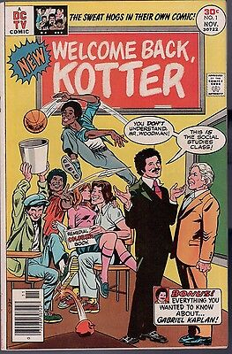 Welcome Back Kotter #1 Very Fine TV Show Adaptation Oksner Art DC Comic 1970 SFX