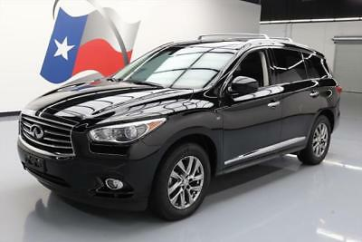 2014 Infiniti QX60 Base Sport Utility 4-Door 2014 INFINITI QX60 THEATER 7-PASS SUNROOF NAV DVD 37K #542598 Texas Direct Auto