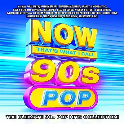 Now That's What I Call 90s Pop by Various Artists (CD, Jan-2017, Legacy) NEW