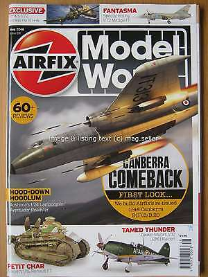 Airfix Model World August 2016 Canberra Mirage F.1 Heinkel HE Aventador Raiden