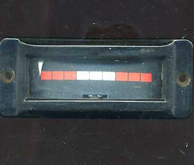 2 ma Moving Coil Meter Edgewise Bakelite NAVY ? 50 ohm