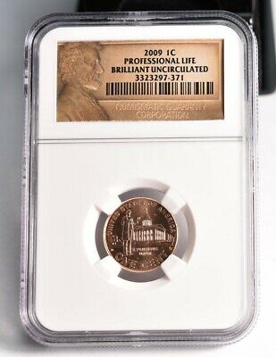 2009 Lincoln Penny Cent 1c - Professional Life - NGC Brilliant Uncirculated