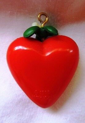 1988 Hallmark Keepsake Miniature Christmas Ornament MOTHER RED HEART