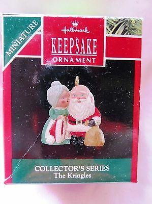 1990 Hallmark Keepsake Miniature Christmas Ornament THE KRINGLES