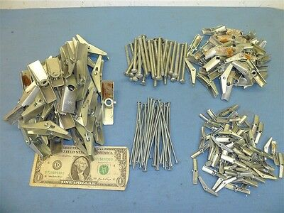 """HUGE LOT TOGGLE BOLTS 207 PIECES 1/8""""x4""""  1/4""""x3""""  3/8"""" WING ONLY"""