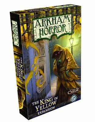 Arkham Horror: The King in Yellow Expansion [Board Game, Fantasy Flight] NEW