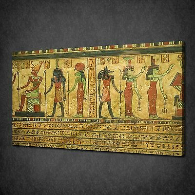 ANCIENT EGYPTIAN Papyrus Pharaohs Box Canvas Print Wall Art Picture ...