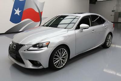 2014 Lexus IS  2014 LEXUS IS250 VENT SEATS SUNROOF NAV REAR CAM 34K MI #005379 Texas Direct