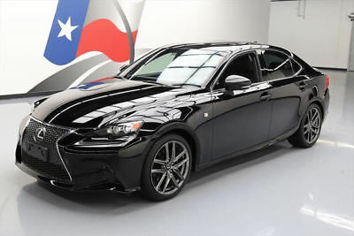 2014 Lexus IS  2014 LEXUS IS250 AWD F SPORT SUNROOF NAV REAR CAM 33K #012646 Texas Direct Auto