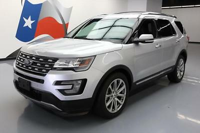 2016 Ford Explorer Limited Sport Utility 4-Door 2016 FORD EXPLORER LTD AWD CLIMATE LEATHER NAV 20'S 45K #C08874 Texas Direct
