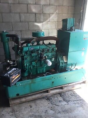 Onan 30KW Generator Standby Natural Gas Ford 6 Cylinder SO-31B Works Great