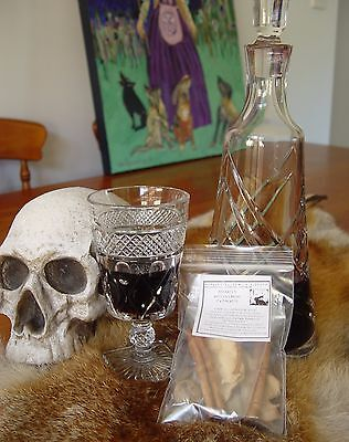 2 x ASTARTE'S WITCHES BREW KITS Wicca Witch Pagan Goth WINE ROOTS HERBS & SPICES