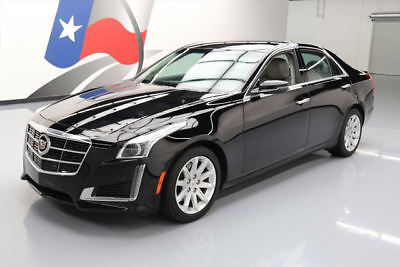 2014 Cadillac CTS Base Sedan 4-Door 2014 CADILLAC CTS 2.0T SEATING PKG VENT LEATHER NAV 43K #157886 Texas Direct