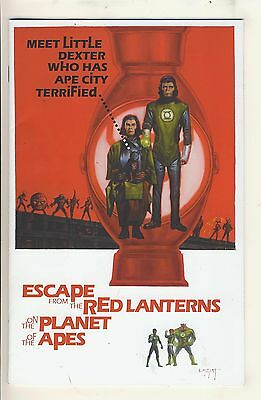 Planet of the Apes/Green Lantern 3 NM Variant Cover