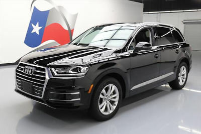 2017 Audi Q7  2017 AUDI Q7 3.0T QUATTRO PREM PLUS AWD PANO ROOF NAV #040619 Texas Direct Auto