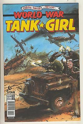 World War Tank Girl 1 NM Cover B