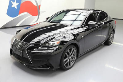 2015 Lexus IS Base Sedan 4-Door 2015 LEXUS IS350 F SPORT AWD SUNROOF NAV REAR CAM 38K #006149 Texas Direct Auto