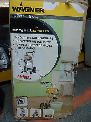 Wagner Airless Project Pro 119 Sprayer *NEW NEVER USED*