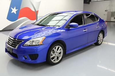2014 Nissan Sentra  2014 NISSAN SENTRA SR SEDAN AUTO SPOILER ALLOYS 16K MI #310437 Texas Direct Auto