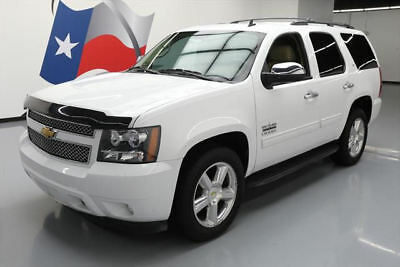 2013 Chevrolet Tahoe LT Sport Utility 4-Door 2013 CHEVY TAHOE LT TEXAS 8-PASS HTD LEATHER 20'S 75K #250295 Texas Direct Auto