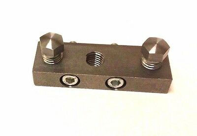 "Lathe Tool Holder Block for Mazak CNC Turret Face Wedge Clamp Block for 1"" OD"