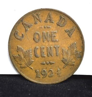 1924 Canada One Cent - F
