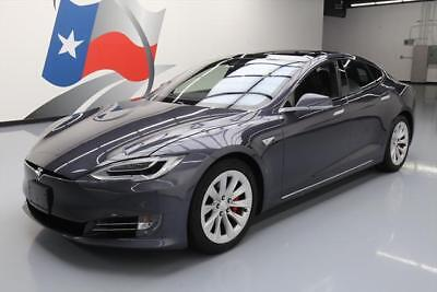 2016 Tesla Model S  2016 TESLA MODEL S P90D AWD LUDICROUS SPD AUTOPILOT 7K #142809 Texas Direct Auto