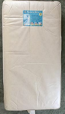 SEALY Natural Rest Crib Waterproof Mattress PICK UP ONLY!