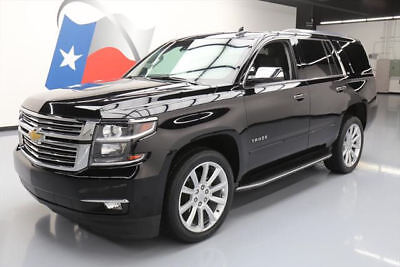 2016 Chevrolet Tahoe LTZ Sport Utility 4-Door 2016 CHEVY TAHOE LTZ SUNROOF NAV DVD REAR CAM 22'S 43K #220582 Texas Direct Auto