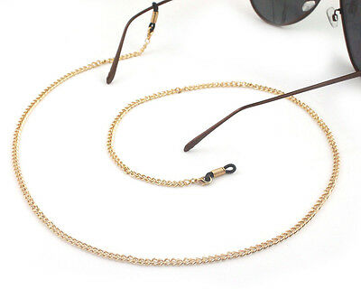100% handmade Gorgeous Finish Spectacle gold Chain Reading Fashion Free