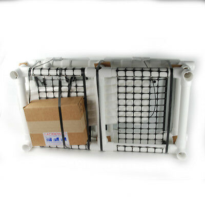 MJM International 214-D-FP Double Hamper with Optional Foot Pedal
