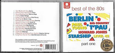 Best Of The 80`s-Part One Sampler V/A CD (`12/THE RED BOX) -U.K. Press-