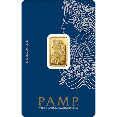 PAMP Suisse Gold 5g Minted Bullion Bar