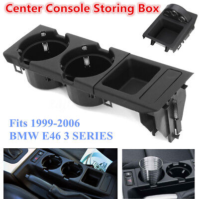 Front Center Console Coin Storage Box & Cup Holder For BMW E46 3 SERIES 99-06 AU