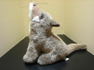 """Cute Wild Wolf or Coyote Pup 10"""" Stuffed Plush Toy Doll"""