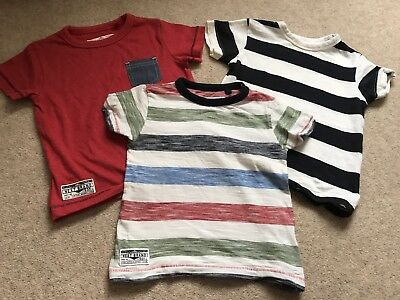 Next Boys T Shirts 9-12 Months