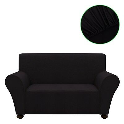 sofahusse jersey sessel sofa bezug universal stretchhusse polyester anthrazit eur 16 99. Black Bedroom Furniture Sets. Home Design Ideas