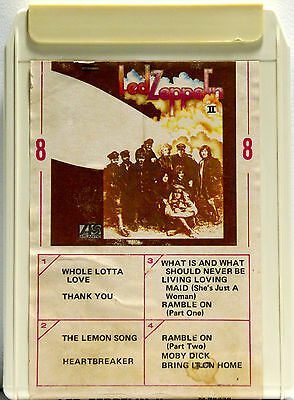 Led Zeppelin Ii  8 Track Tape  Cartridge