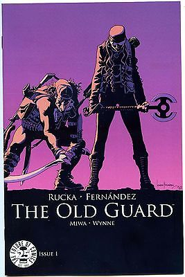 The Old Guard #1 25th Anniversary Blind Box Variant Image Comics NM