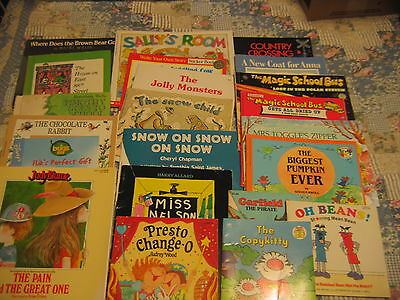 LOT 22 BOOKS CHILDREN STORIES READ TO ME  Great Selection