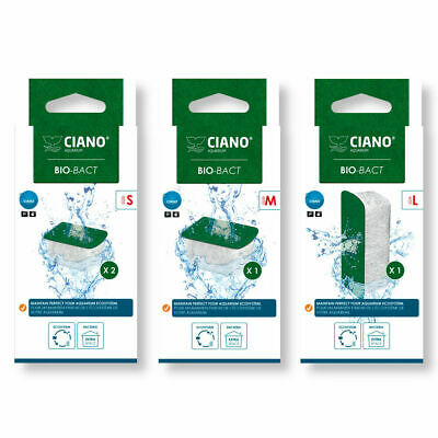 Ciano BIO-BACT Filter Media Replacement Cartridge CF40 CF80 CFBIO Small / Medium