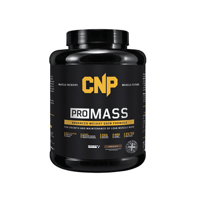 CNP Pro Mass Weight Gainer 2.5Kg All Flavours Serious Anabolic Whey Protein Gain