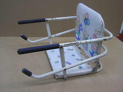Vintage GRACO Teddy Bear FOLDING TOT LOC CHAIR Booster PORTABLE Hook Table