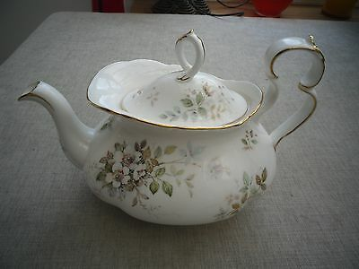 Large Royal Albert Haworth bone china teapot in lovely condition