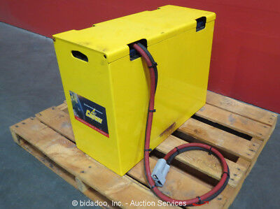 Crown 12-85S-13 24V 12-Cell Industrial Forklift Battery w/Cover Lead bidadoo