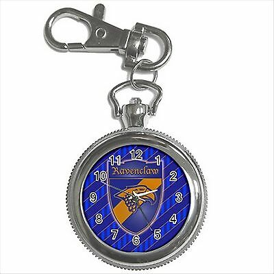 NEW HARRY POTTER RAVENCLAW HOGWARTS SCHOOL Key Chain Ring Watch Gift D04