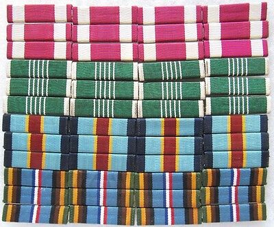 Lot of 4x12 (48) US military ribbons